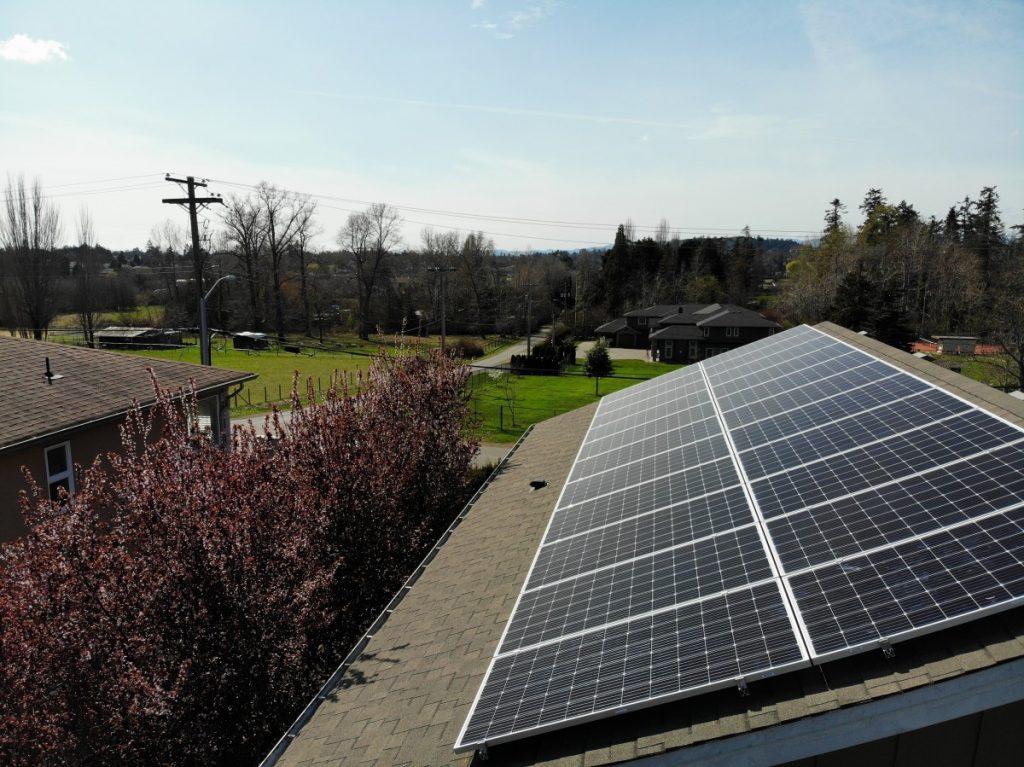 rooftop solar installation Victoria BC
