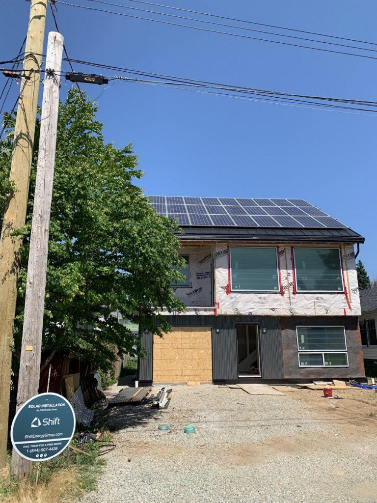 rooftop solar panel installation Port Alberni