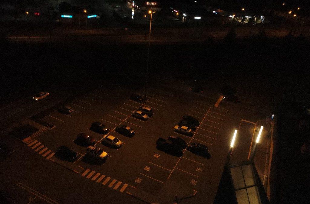 Parking Lot LED Retrofit