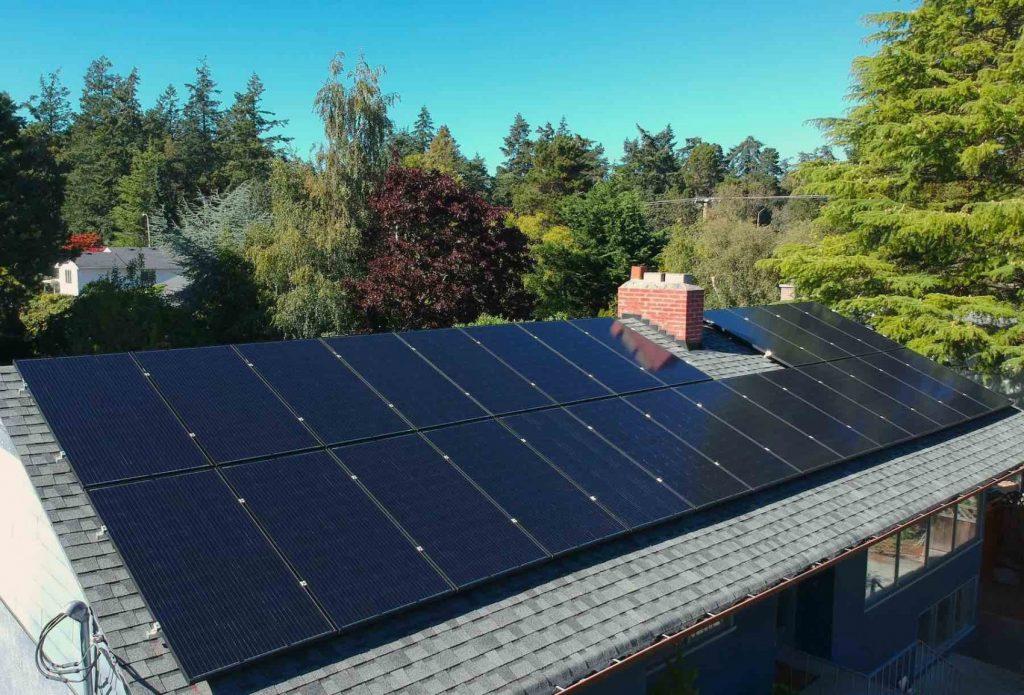 Solar Panel Installation in Victoria BC
