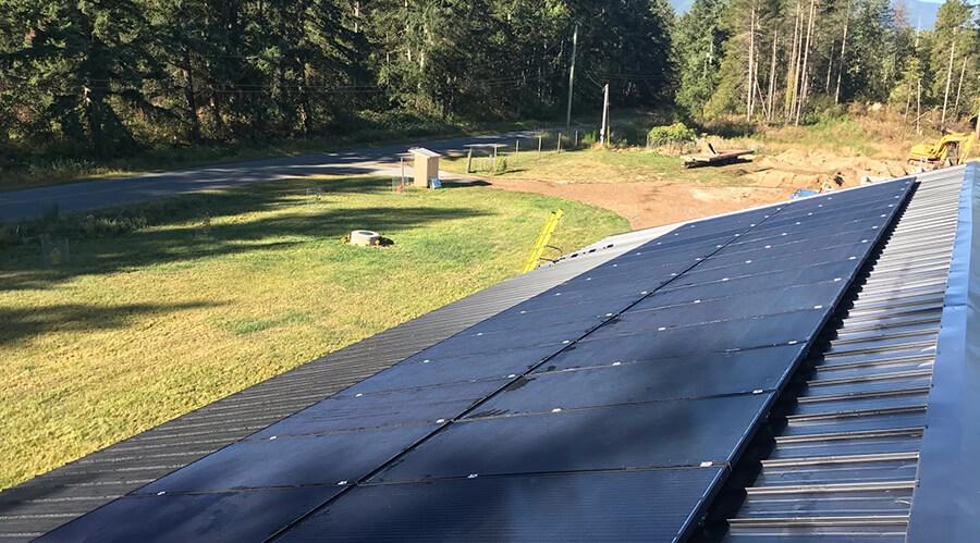 10.72kW Solar Panel Installation in Errington BC