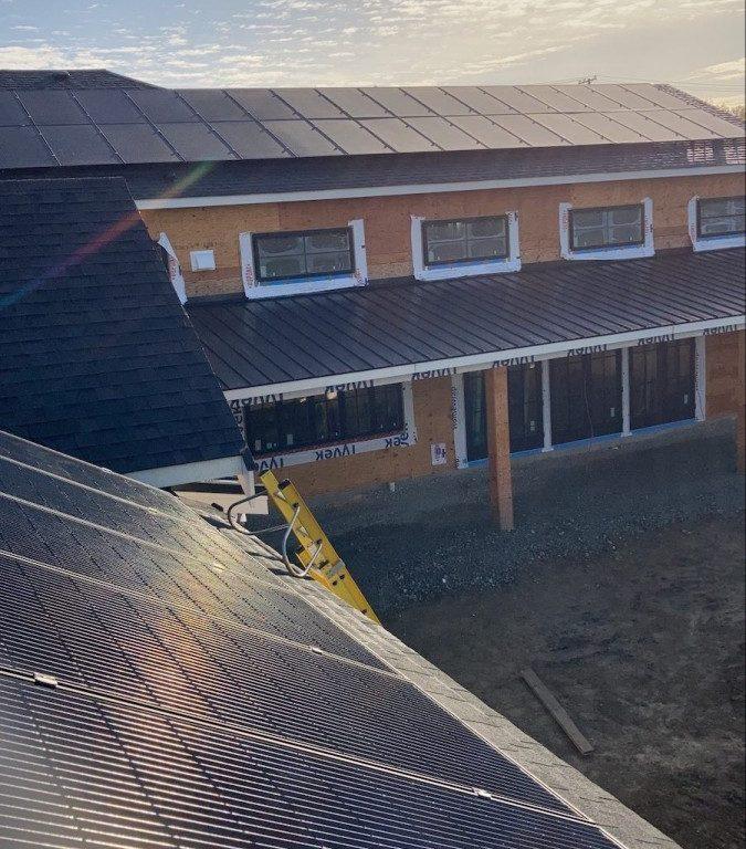 14.74kW Solar Panel Installation in Saanich BC