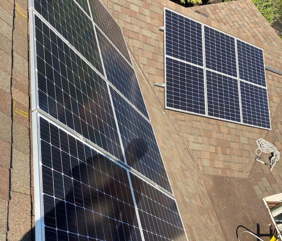 8.86kW Solar Panel Installation in Victoria BC