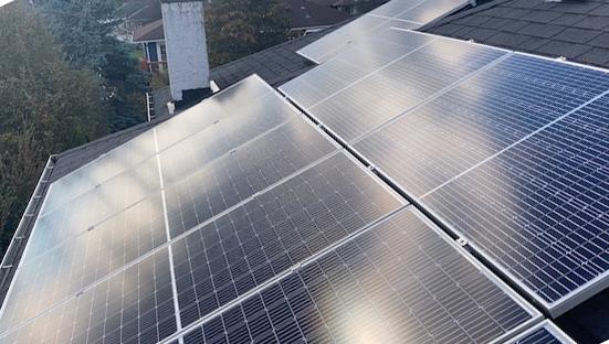 10.44kW Solar Panel Installation in Victoria BC