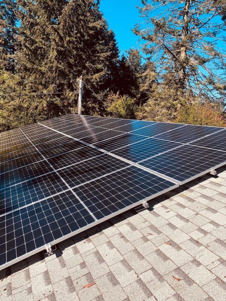 10.44kW Solar Panel Installation in Nanaimo BC