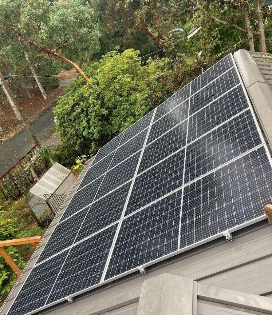 12.32kW Solar Panel Installation in Victoria BC