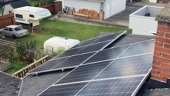 10.44kW Solar Installation in Victoria BC