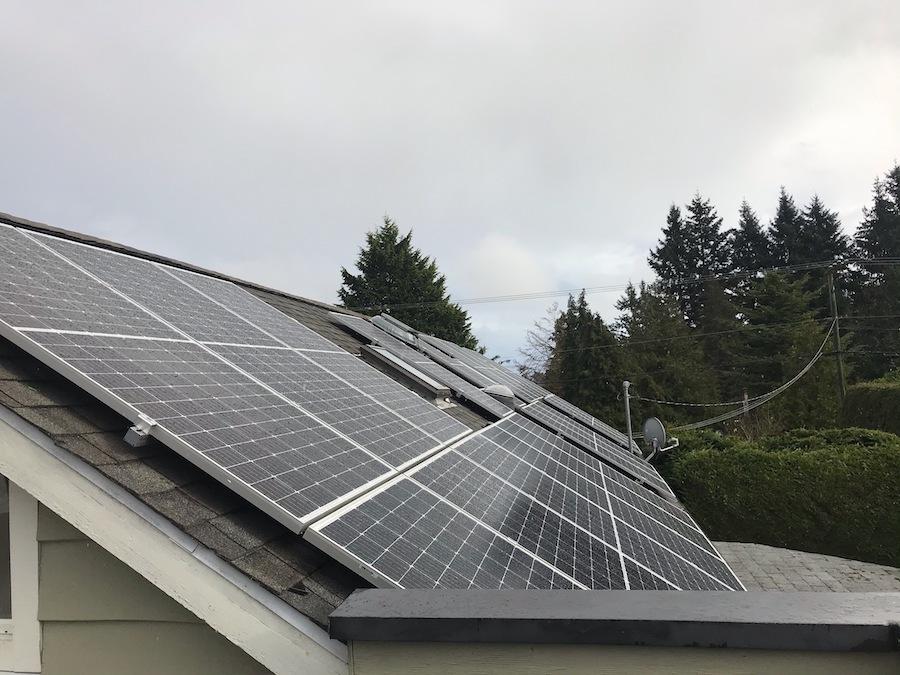 9.57kW Solar Panel Installation in Victoria BC