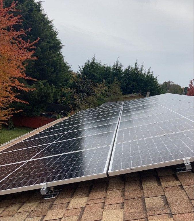 8.7kW Solar Panel Installation in Victoria BC