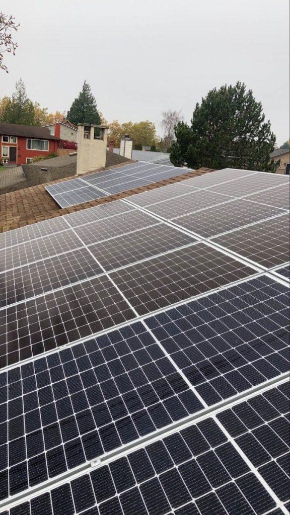 7.2kW Solar Panel Installation in Victoria BC