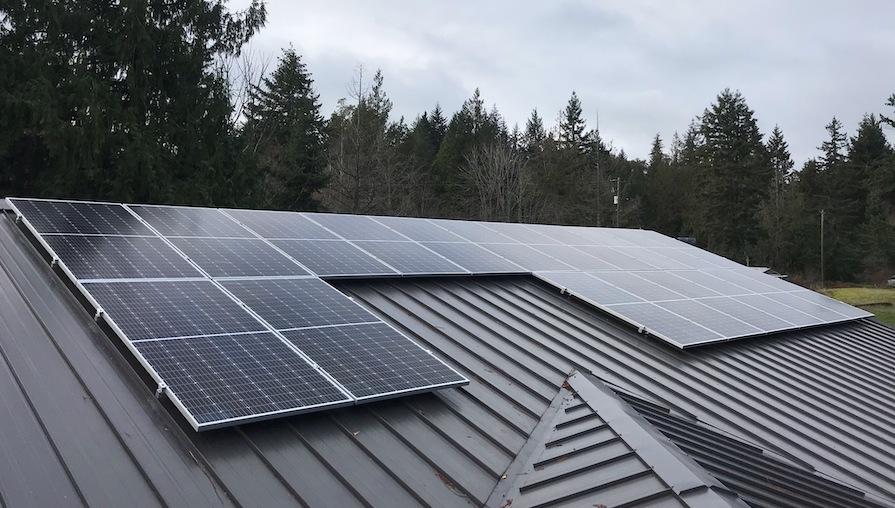 16.53kW Solar Panel Installation in Nanaimo BC