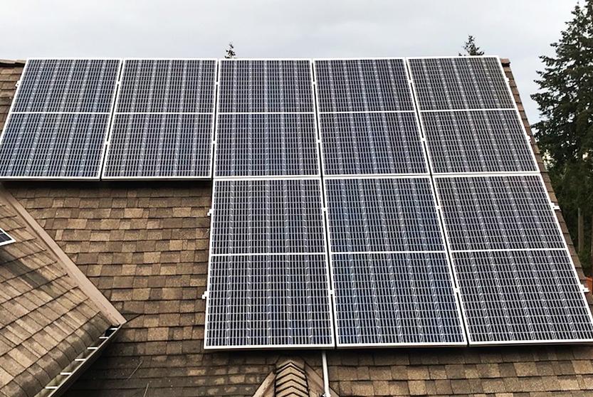 10.88kW Solar Installation in Courtenay BC