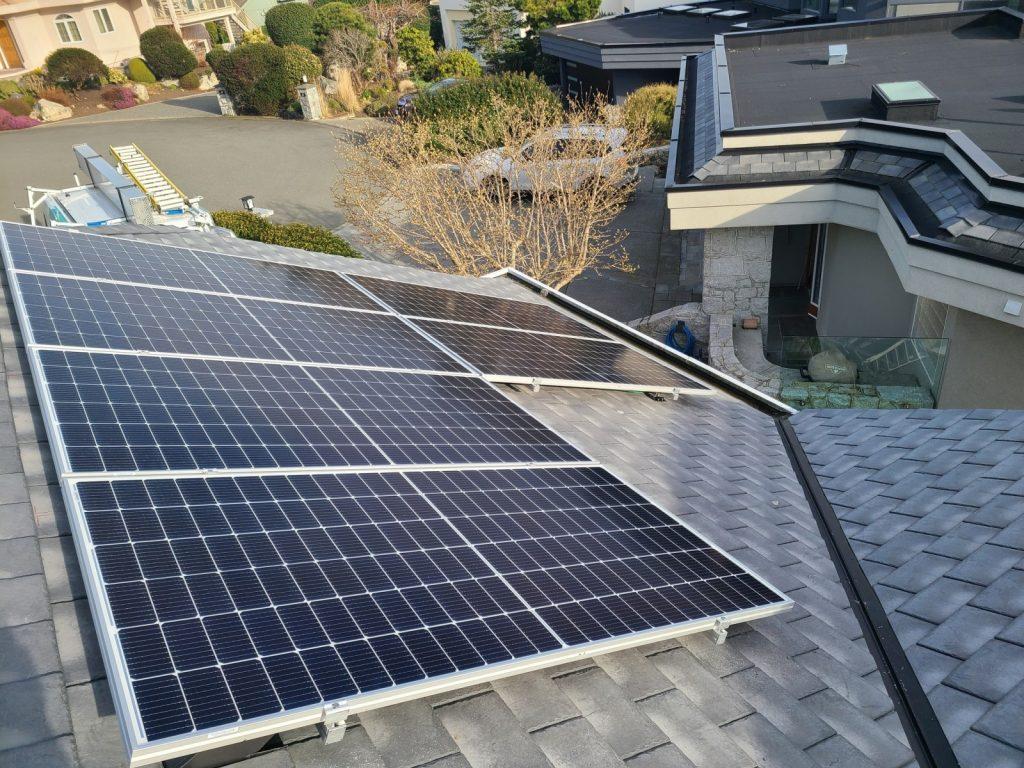 5.34kW Solar Installation in Victoria BC