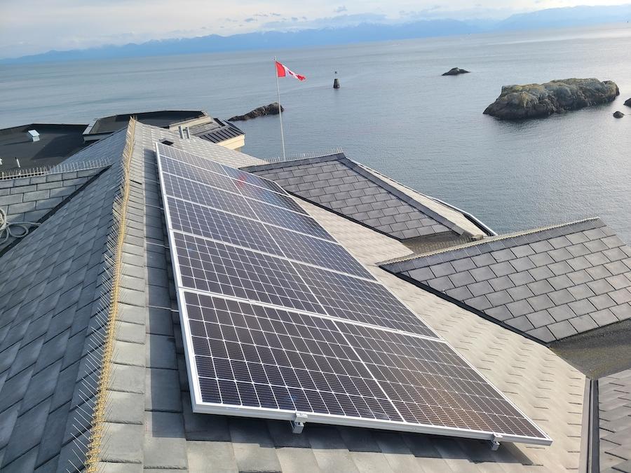 5.32kW Solar Installation in Victoria BC