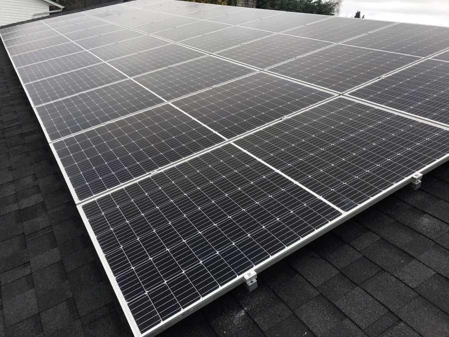 8.7kW Solar Installation in Parksville BC