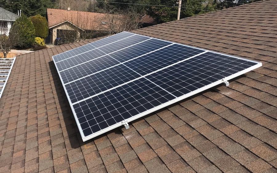 8.01kW Solar Installation in Parksville BC